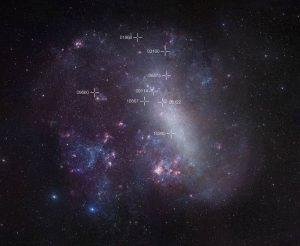 Foto ini menunjukkan Large Magellanic Cloud