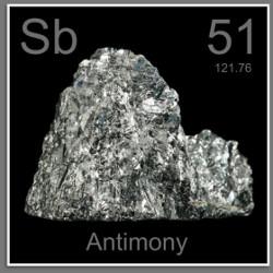 Antimon (Sb) Penjelasan Unsur, Sifat dan Kegunaan