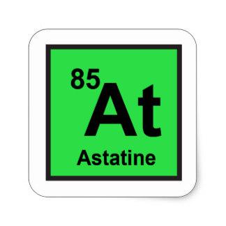 Astatin (At) Unsur Kimia, Sejarah dan Sifatnya
