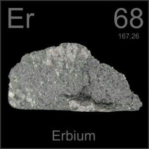 Erbium (Er) : Penjelasan Unsur Kimia, Sifat dan Kegunaan
