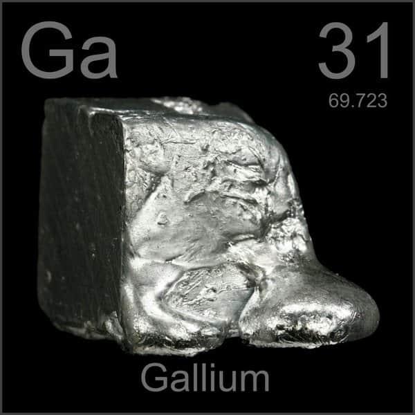 Galium (Ga) Sumber, Sifat, Kegunaan dan Bahaya