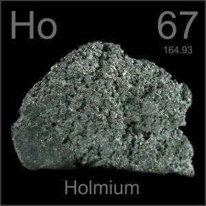 Holmium (Ho) : Penjelasan, Sejarah dan Sifat