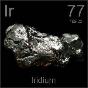 Iridium (Ir) Penjelasan Unsur, Sifat dan Kegunaan