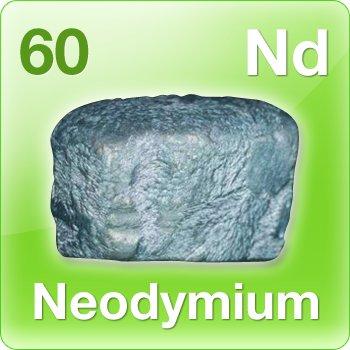 Neodymium (Nd) Penjelasan, Unsur Kimia, Sifat dan Kegunaan