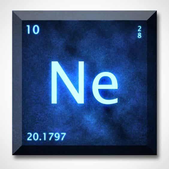 Neon (Ne) : Sejarah, Atom Dan Rumus Kimia