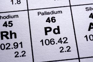 Palladium (Pd) Paladium Unsur, Sifat dan Kegunaan