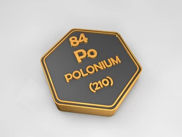 Polonium (Po) Sifat, Kegunaan, Dampak dan Bahaya
