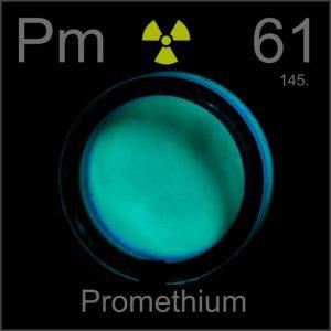 Prometium (Pm) Pengertian, Unsur Kimia, Sifat dan Kegunaan