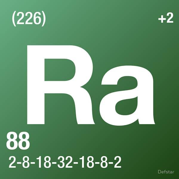 Radium (Ra) : Penjelasan Unsur, Sifat dan Kegunaan