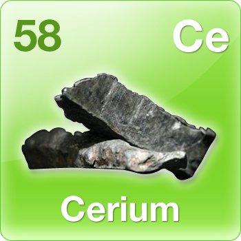 Serium | Cerium (Ce) : Penjelasan, Sifat dan Kegunaan