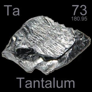 Tantalum (Ta) : Penjelasan, Sifat dan Fungsi