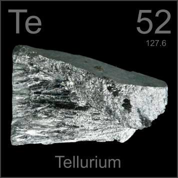 Tellurium (Te) Sejarah, Sifat, Fungsi dan Kegunaan