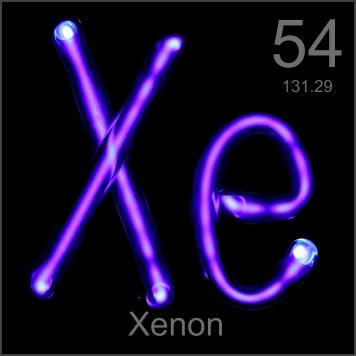 Xenon (Xe) Sifat, Kegunaan dan Dampak Bahaya